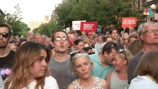[NATL] 'Do Something': Crowd Screams at Ohio Gov. Mike DeWine During Shooting Vigil