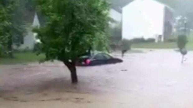 Driver Describes Getting Caught in Flash Flood
