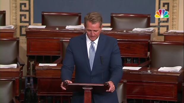 [NATL] Sen. Flake Announces He Will Not Seek Re-Election, Condemns Trump