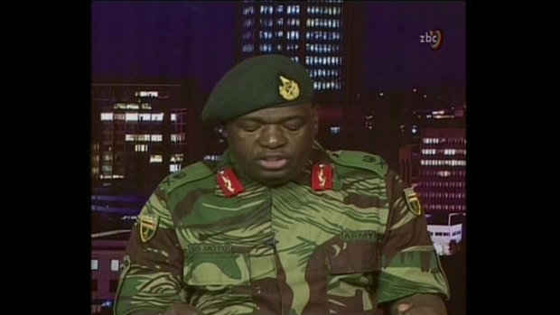 Zimbabwe Military This Is Not a Military Takeover of Government