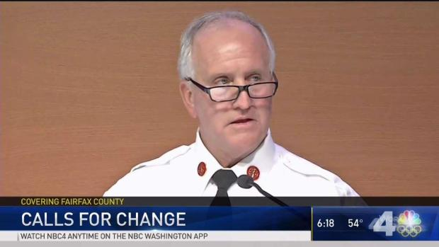 Fairfax Fire Chief Refuses to Step Down Amid Bias Complaints