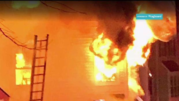[DC] Fire Displaces 10 From Three Homes