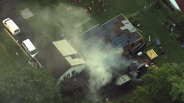 First Responders Save Couple From Burning House in Md.