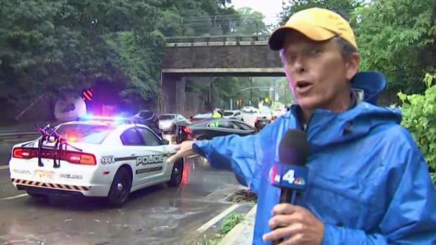 [DC] Flash Flood Pours Through DC Area, Traps Vehicles