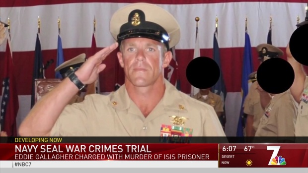 [NATL DGO] Jury Seated in Court-Martial of SEAL Charged with War Crimes