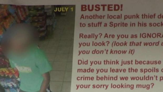 [DC] Gas Station Owner's Wall of Shame Garners Criticism