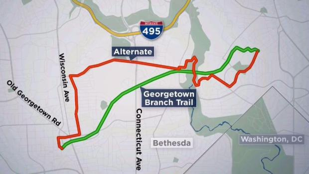 [DC] Opponents Fight Back Against Multi-Year Closure of Georgetown Branch Trail