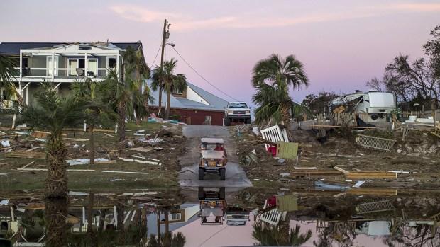 Hurricane Michael Moves North