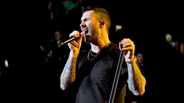[NATL] Top Entertainment Photos: Maroon 5 Plays in New York City