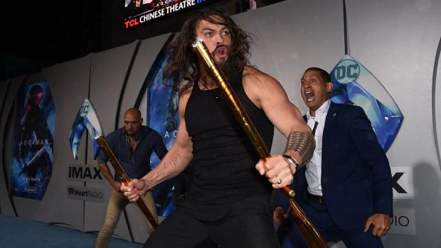 Top Celebrity Photos: 'Aquaman' Premieres