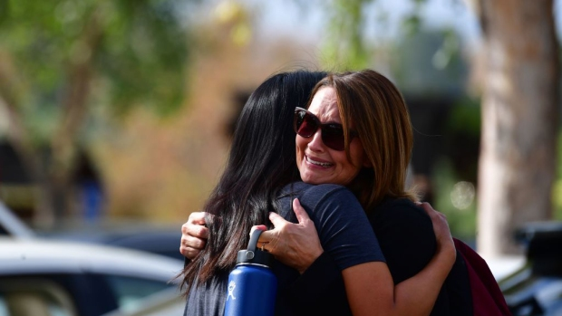 Pictures: Students Reunite After 15-Year-Old Classmate Opens Fire on Northern LA School Campus