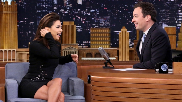 [NY] 'Tonight Show': Eva Longoria's Holiday Horror Story