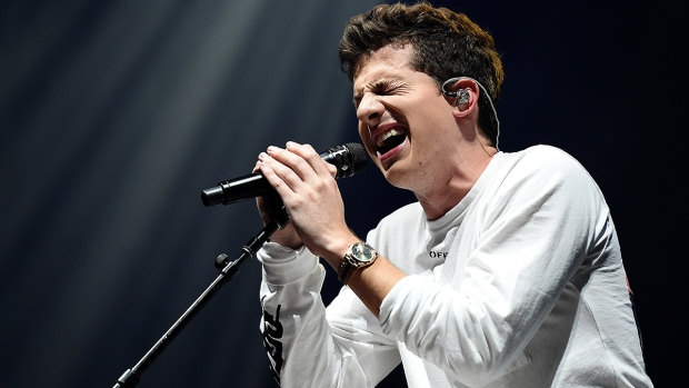 Top Celeb Photos: Charlie Puth, Shawn Mendes at Barclays