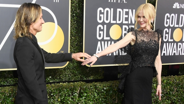 Couples at the Golden Globes