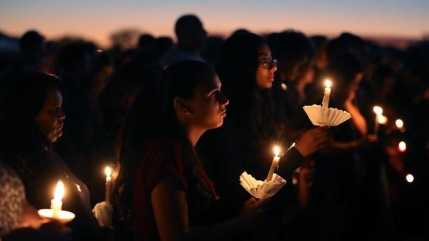 Grieving Community Gathers to Remember Stoneman Douglas School Shooting Victims