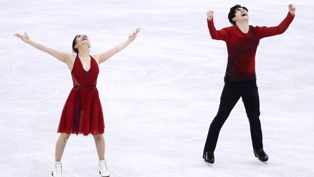 [NATL] Feb. 20 Olympics Highlights in Photos: Shibutani Siblings, Brita Sigourney Win Bronze