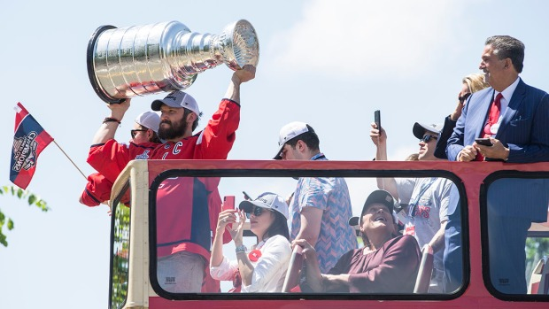 Best Moments From the Washington Caps Stanley Cup Victory Parade
