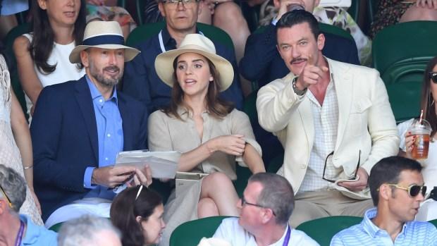 [NATL] Celebrities in the Stands: Stars Attend Wimbledon Finals