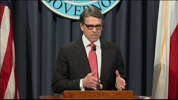 [DFW] Texas Gov. Perry Addresses Indictment