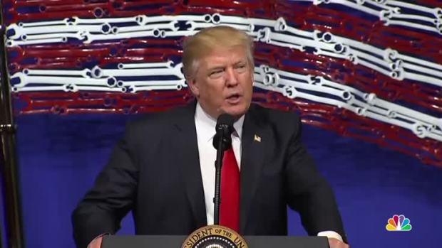 [NATL] Trump Announces New 'Buy American, Hire American' Executive Order