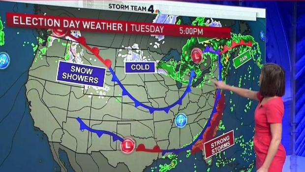 How Weather Affects How People Vote