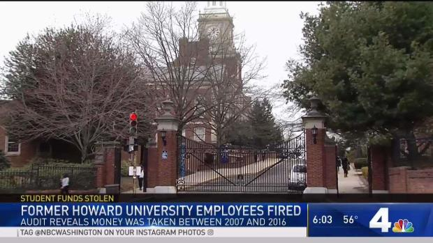 Howard U. Employees Took Financial Aid Funds: School Prez