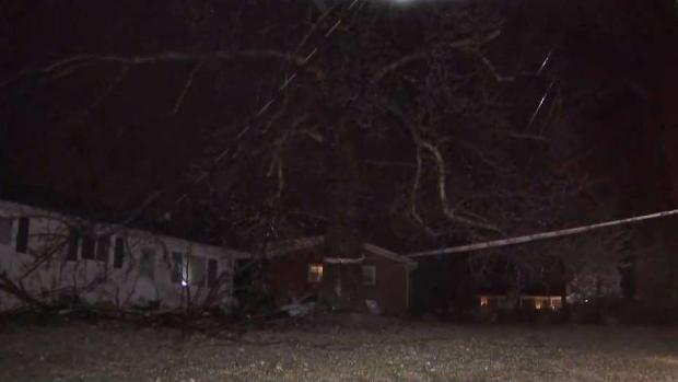 [DC] Icy Conditions Lead to Downed Trees and Wires