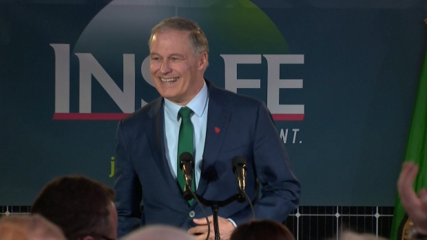 Washington Gov. Inslee Announces 2020 Presidential Run