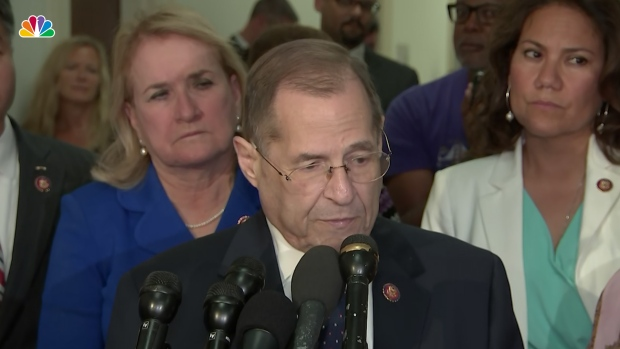 [NATL]  'We Are Now in a Constitutional Crisis,' Rep. Nadler Says