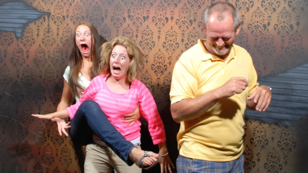 Spooky, Scary, Funny: Haunted House Reactions