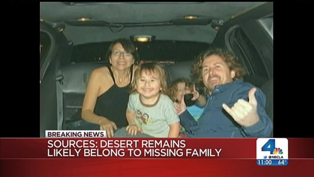 [LA] Remains Found in Desert May Belong to Missing Family