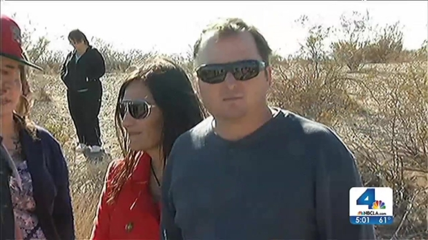 [LA] McStay Family Remembered at Desert Memorial