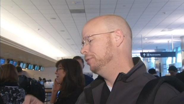 "[BAY] RAW VIDEO: Dallas-Bound Passengers ""Tense"" After Plane Strikes Bird at SJC"