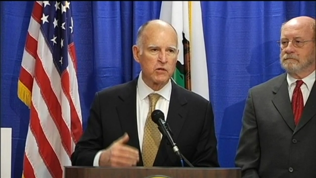 "[BAY] ""Worst Drought Calif. Has Ever Seen,"" Gov. Jerry Brown"