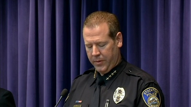 [BAY] Stockton Police Press Conference on Deadly Bank Robbery