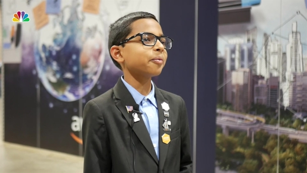 Meet the 10-Year-Old Helping Amazon Web Services's Robotics