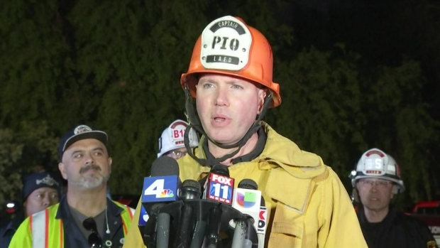 [LA] Watch: LAFD Announces Boy Found Alive After Sewer Pipe System Search