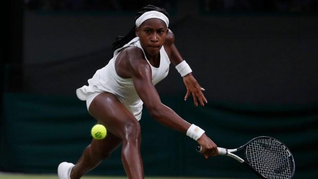 [NATL] Cori 'Coco' Gauff Loses In The Fourth Round Of Wimbledon