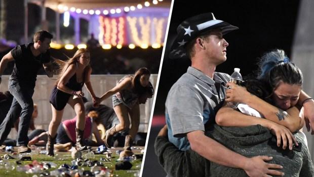 Dead, More Than 100 Injured In Las Vegas Mass Shooting