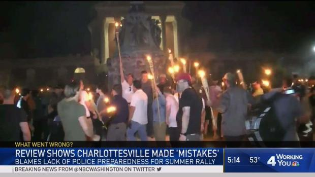 Report: Law Enforcement in Charlottesville Made 'Mistakes'