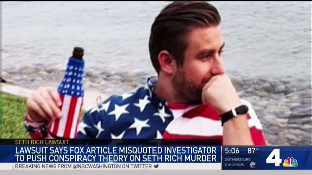 Lawsuit Alleges White House Link to Seth Rich Story