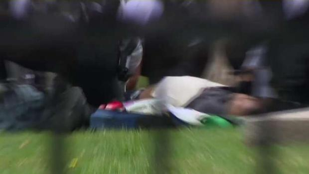 Man Sets Himself on Fire in Front of White House | NBC4