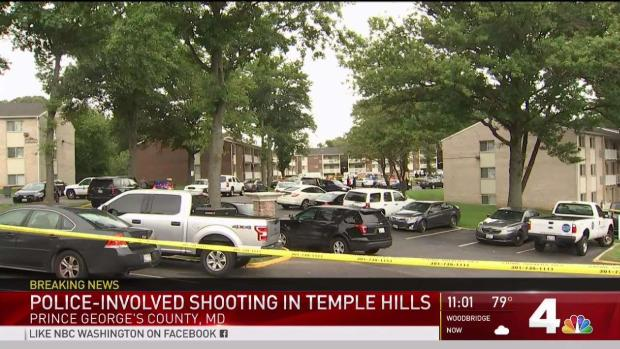 [DC] Officer-Involved Shooting Reported in Temple Hills