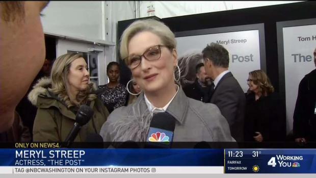 [DC] Meryl Streep: 'I Was Grateful' to Play Washington Post Publisher Katherine Graham