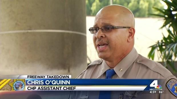 [LA] CHP Speaks on Video of Officer Hitting Woman
