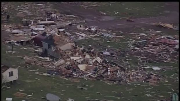 Central US warned severe weather, tornadoes on the horizon