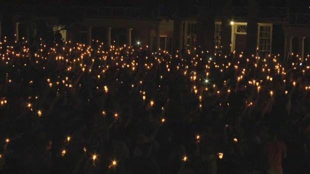 [NATL] Charlottesville Community Sings at Candlelight Vigil