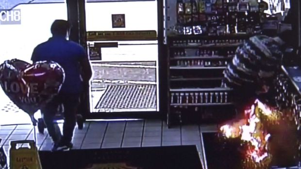 Caught on Camera: E-Cigarette Explodes in Pocket