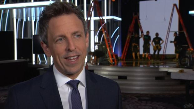 [NATL] Seth Meyers Goes From Late Night to Hollywood as Golden Globes Host
