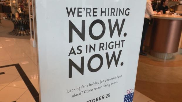 [NATL] Employers Scramble to Find Seasonal Workers This Holiday Season